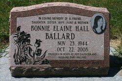 Bonnie Elaine <i>Hall</i> Ballard