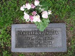 Rochelle S Bachman