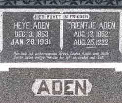 Trentjie <i>Zimmerman</i> Aden