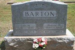 Lulu M <i>Kerr</i> Barton