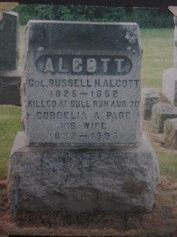 Cordelia A <i>Page</i> Alcott