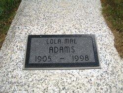 Lola Mae <i>Pace</i> Adams