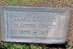 Clarissa Evelyn Clara <i>Hodge</i> Adams