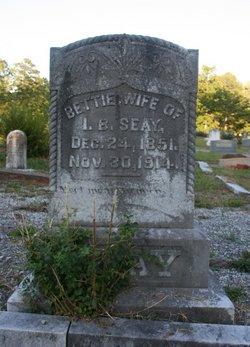 Amanda E. Bettie <i>Barnes</i> Seay