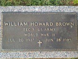 William Howard Bo Brown