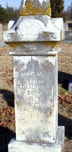 Adaline M. <i>Hubert</i> Caldwell