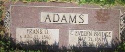 Cornelia Evelyn <i>Bridge</i> Adams
