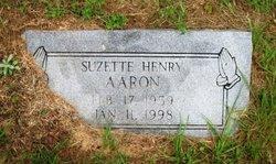 Suzette <i>Henry</i> Aaron