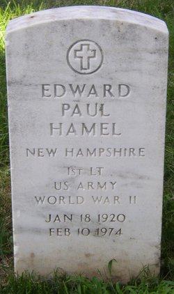 Lieut Edward Paul Hamel