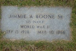 Jimmie Alfred Boone, Sr