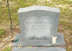 Ardis <i>Brown</i> Beach