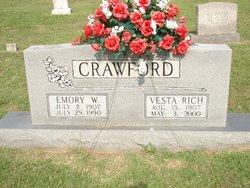 Sylvester Vesta <i>Rich</i> Crawford