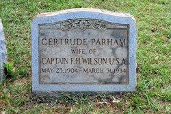 Gertrude <i>Parham</i> Wilson