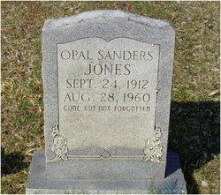 Opal <i>Sanders</i> Jones