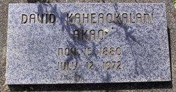 David Kaheaokalani Akao
