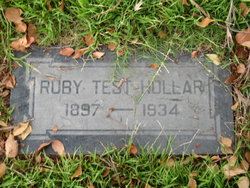 Ruby <i>TEST</i> Hollar