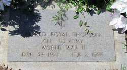 Alfred Royal Thorson