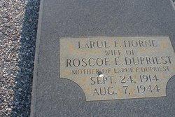 Larue F <i>Horne</i> Dupriest