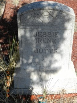 Jessie Irene <i>Singleton</i> Butts