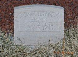 Alma <i>Chaddick</i> Erwin