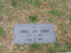 Jimmie Lou Gaddy
