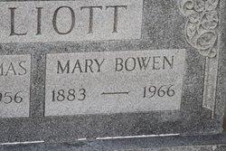 Mary <i>Bowen</i> Elliott