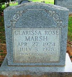 Clarissa <i>Rose</i> Marsh
