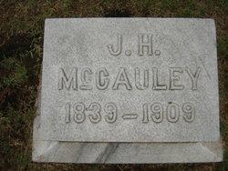 Capt. John H McCauley