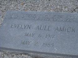 Evelyn <i>Aull</i> Amick