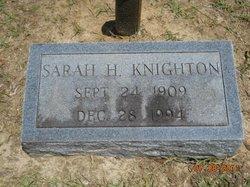Sarah <i>Harrell</i> Knighton