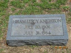 Rev Hiram Leroy Knighton