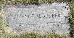 Florence M Broberg