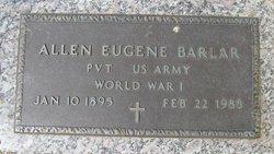 Allen Eugene Barlar