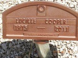 Lucille <i>Martin</i> Cooper