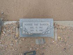 Bonnie Fay <i>Davis</i> Banner