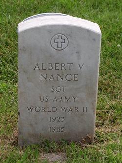 Sgt Albert V. Nance