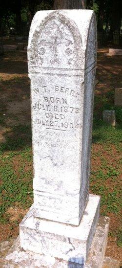 William Thomas W.T. Berry