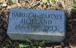 Isabelle <i>MacCartney</i> Holland