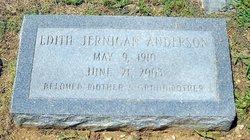 Edith <i>Jernigan</i> Anderson
