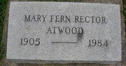 Mary Fern <i>Rector</i> Atwood