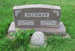 Mary Jeanette <i>Botts</i> Beckman