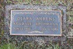Clara <i>Ahrens</i> Sothmann