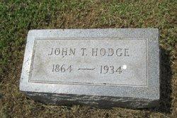 John T Hodge