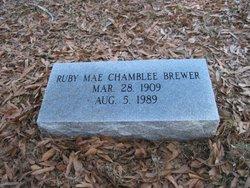 Ruby Mae <i>Chamblee</i> Brewer