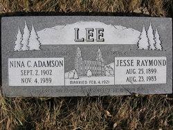 Nina C. <i>Adamson</i> Lee