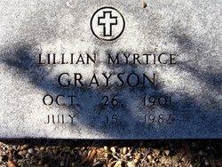 Lillian Myrtice <i>Crawford</i> Grayson