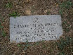 Charles Harold Anderson, Sr