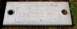 Lorna Francis <i>Beattie</i> Arbo