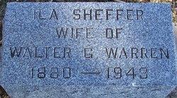 Ila <i>Sheffer</i> Warren