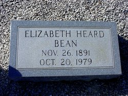Sarah Elizabeth <i>Heard</i> Bean